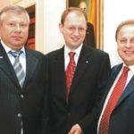 Салигіним, Яценюк та Грицак
